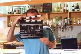 DNA Origami film shoot - clapperboard
