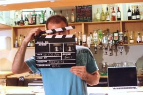 DNA Origami film shoot - clapperboard