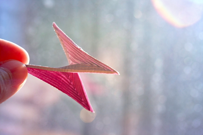 52 weeks of tinygami, miniature hyperbolic paraboloid